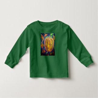 Pumpkin fell art toddler t-shirt