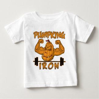 pumpkin fitness shirt