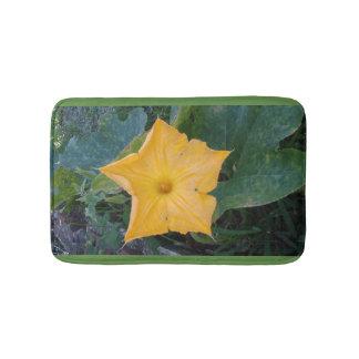 PUMPKIN FLOWER BATH MAT