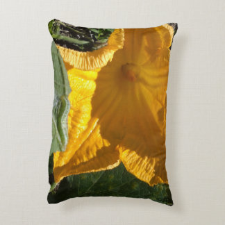 PUMPKIN FLOWER DECORATIVE PILLOW