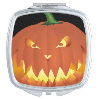 Pumpkin for Halloween... Compact Mirrors
