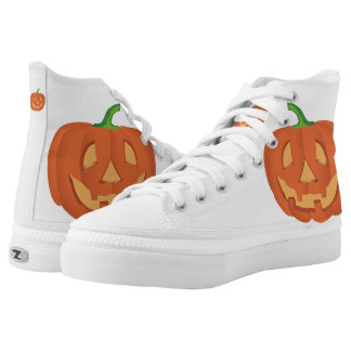 Pumpkin for Halloween... High Tops