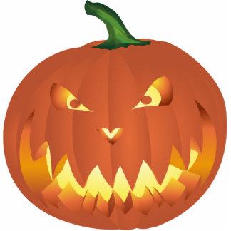 Pumpkin for Halloween... Photo Sculpture Magnet