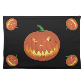 Pumpkin for Halloween... Placemat