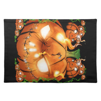 Pumpkin Friends Placemat
