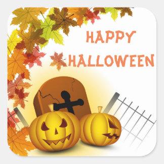 Pumpkin Graveyard Stickers