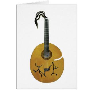 Pumpkin Guitar Card