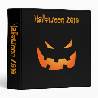 Pumpkin Halloween Binder