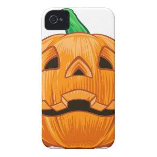 Pumpkin Halloween Illustration iPhone 4 Case