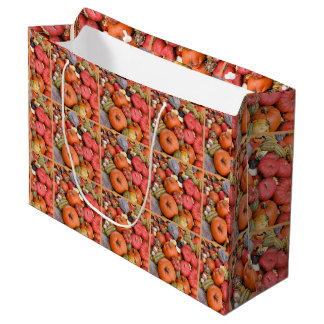 Pumpkin Harvest R01.1.1 Large Gift Bag