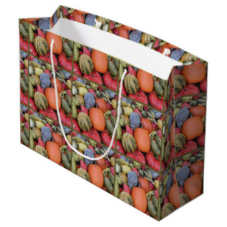 Pumpkin Harvest R02.1 Large Gift Bag