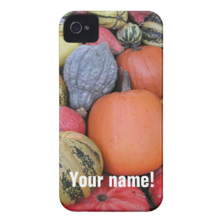 Pumpkin Harvest R02.1 (P) Case-Mate iPhone 4 Case