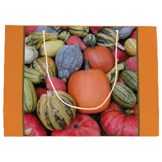 Pumpkin Harvest R02.4.1 Large Gift Bag