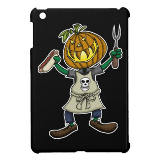 Pumpkin Head Grilling Cover For The iPad Mini