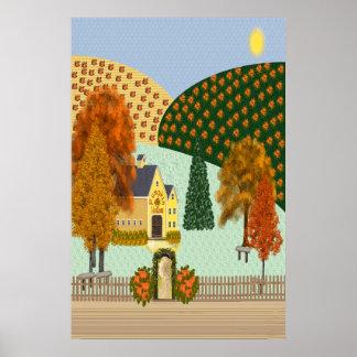 Pumpkin Hollow Print (Huge)