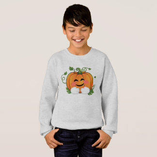 Pumpkin Hugs Emoji Thanksgiving Halloween Shirt