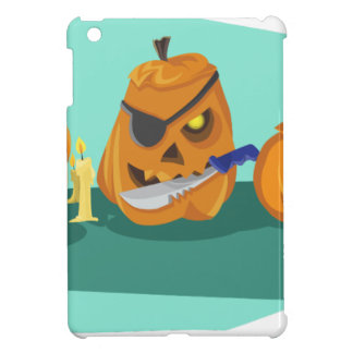 pumpkin iPad mini case