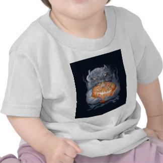 ** pumpkin kitten with ** t-shirt