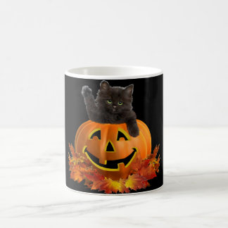 Pumpkin Kitty Coffee Mug