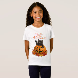 Pumpkin Kitty T-Shirt
