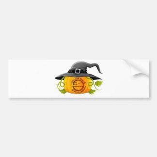 Pumpkin Logo 2016 Bumper Sticker