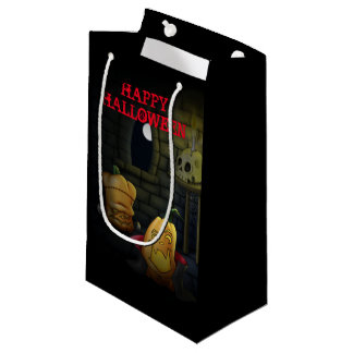 Pumpkin Monsters Halloween Gift Bag