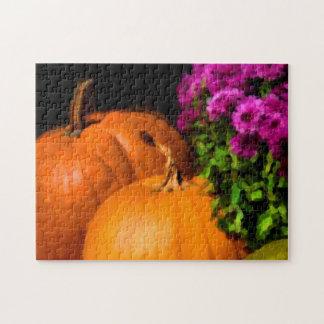 Pumpkin Mums Puzzle