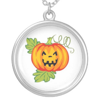 Pumpkin Personalized Necklace