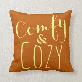 Pumpkin Orange Yellow + Thanksgiving Decor Pillows
