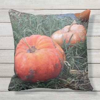 Pumpkin Outdoor Pillow