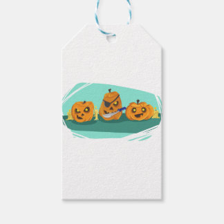 pumpkin pack of gift tags