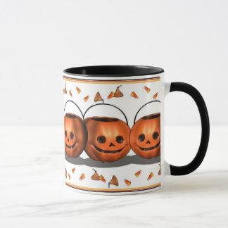 Pumpkin Pail Patch Halloween Mug