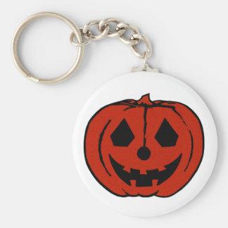 PUMPKIN PAL (Halloween Jack-O-Lantern) ~~ Basic Round Button Keychain