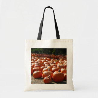 Pumpkin Patch Autumn Harvest Photography Tote Bag