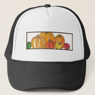 Pumpkin Patch - Fall Pumpkin Designs Trucker Hat