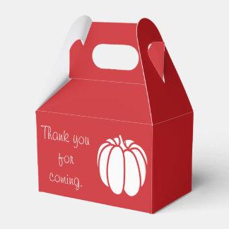 Pumpkin Patch in Cherry Favor Box