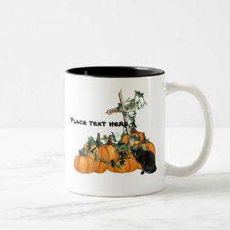 Pumpkin patch Kitty Halloween Mug