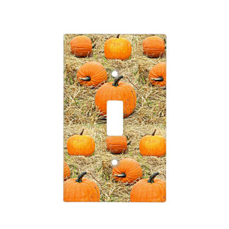 Pumpkin Patch Light Switch Cover