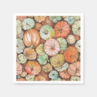 Pumpkin Patch Paper Napkin