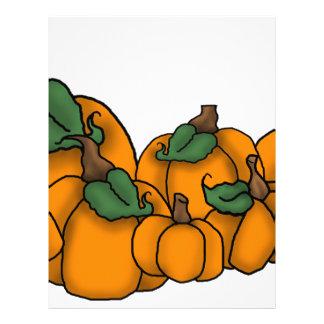 pumpkin patch personalized letterhead
