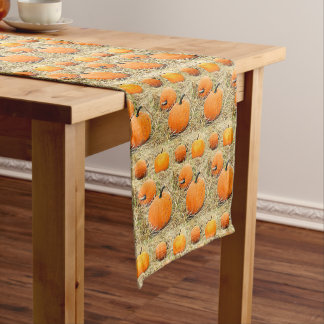 Pumpkin Patch Short Table Runner