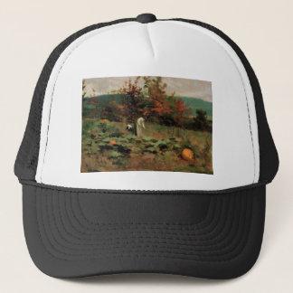 pumpkin-patch trucker hat