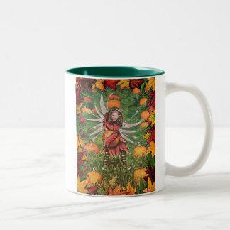 Pumpkin Patch Two-Tone Coffee Mug