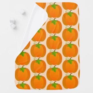Pumpkin pattern baby blanket