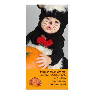 Pumpkin - Photo Card