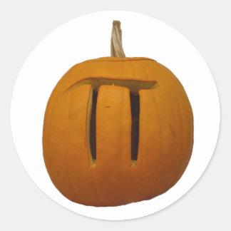 Pumpkin Pi Sticker
