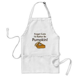 Pumpkin Pie Adult Apron