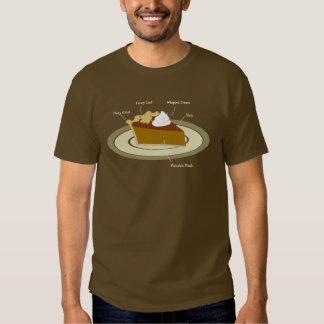 Pumpkin Pie Chart Tee Shirt