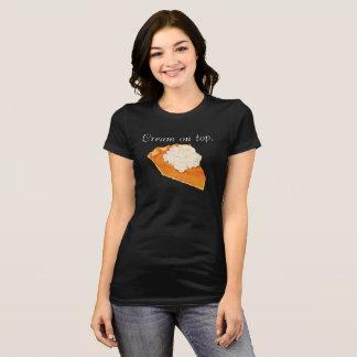 Pumpkin Pie Cream on Top Jersey T-Shirt