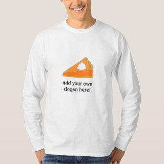 Pumpkin Pie: Customizable Slogan T-Shirt